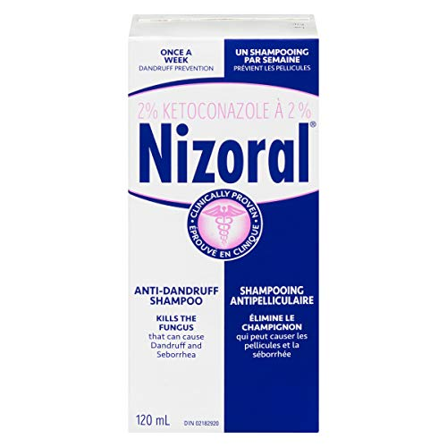 Shampoing Antipelliculaire Nizoral Ketoconazole, 120ml - 0