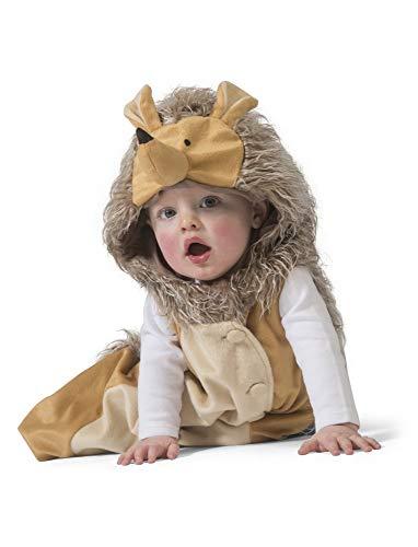 Generique - Süßes Igel-Kostüm für Kleinkinder Baby-Verkleidung braun 92 (1-2 Jahre)