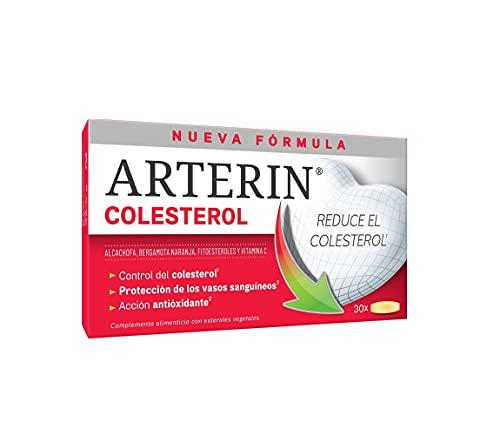 Arterin Colesterol. Reduce el colesterol: nueva formulación clínicamente probada para control del colesterol - 90 comprimidos