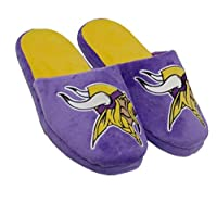 Forever Collectibles NFL Minnesota Vikings Men's Slip On Slippers Size XL 13-14