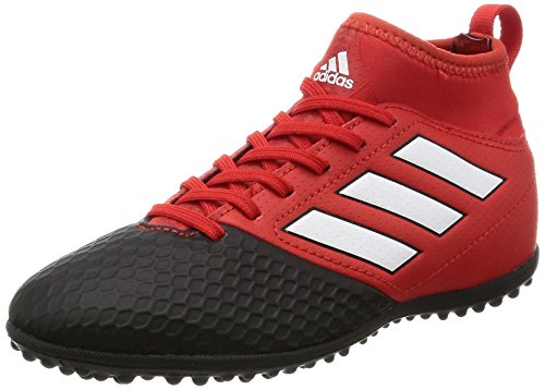 adidas Unisex-Kinder Ace 17.3 TF Fußballschuhe, Rot (Red/FTWR White/Core Black), 35 EU