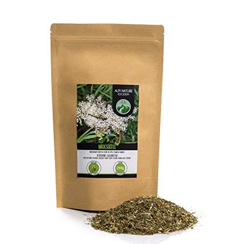 Olmaria (250g), Ulmaria, erbe di prati, tagliata, delicatamente essiccata, pura al 100% e naturale...