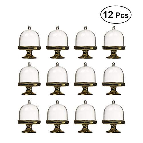 STOBOK 12PCS Caja Caramelos Novedad Cajas para Bombones Dulces Galletas Chocolate con Forma de Modelado de bandejas