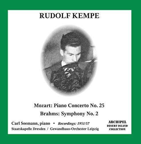 Mozart: Piano Concerto No. 25 in C Major, K. 503 – Brahms: Symphony No. 2 in D Major, Op. 73 (Live)