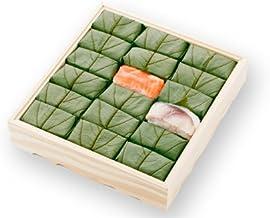 [ 高野街道名産 柿の葉寿司 ] 柿の葉すし(鯖・鮭)18個入