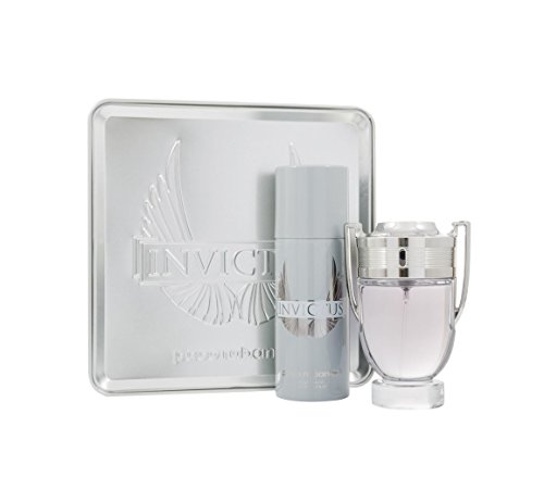 Paco Rabanne Invictus Set homme/men, Eau de Toilette Vaporisateur/Spray 100 ml, Deodorant Vaporisiert/Spray 150 ml, 1er Pack (1 x 250 ml)