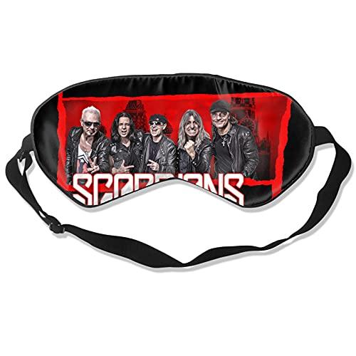 Scorpions Augenbinde Schlafmaske Schattierung Weiche Augenmaske Polyester Bequem Und Atmungsaktiv Verstellbarer Riemen