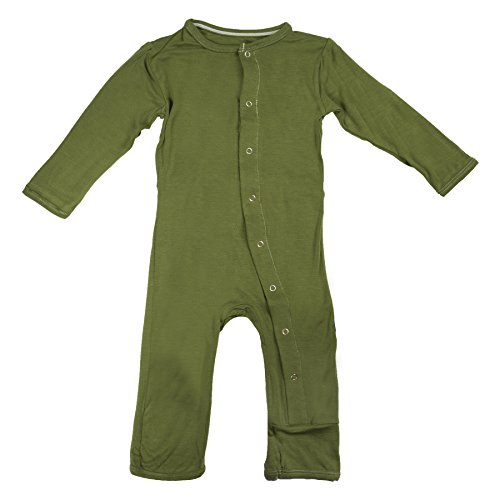 Kickee Pants Toddler-Boys Print Coverall- Moss, 3T