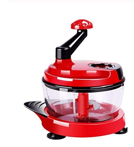 AILY Processeur Manuel Alimentaire Petit Chopper Main Oignon Cutter Mini Manuel Hachoir Veggie Chopper Idéal pour Slicing Dicing Hachoirs Légumes comme Les Oignons Tomates