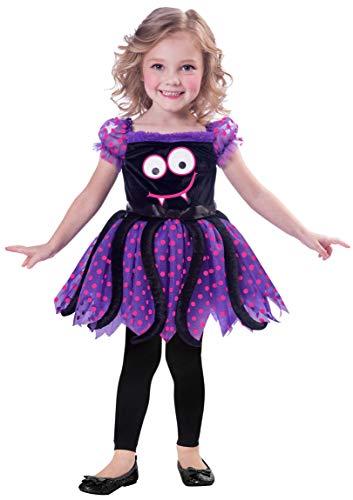 amscan 9903403 - Disfraz de araña feliz (3 a 4 años)
