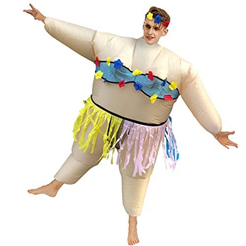 CYYMY Disfraz Inflable,Disfraz Hinchable de Traje Inflable Payaso,Traje Inflable de Halloween,para Concursos de Disfraces, Truco o Trato, Juegos de rol, Fiestas de Cumpleaños,1