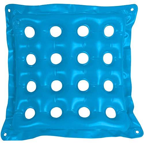 Aufblasbares Kissen für Sitz, Sitzkissen Luftzelle Cushion Anti Dekubitus Air Seat Mat für längeres Sitzen Autostuhl Bürostuhl Rollstuhl
