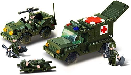 Desconocido Juego de construcción para niños Jeep de 229 Piezas (M38-B6000)