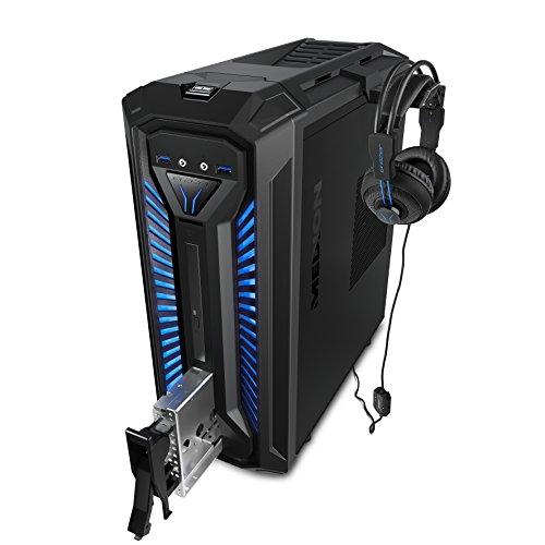 MEDION 10022688 X30 RGB - Ordenador de sobremesa gaming (Intel Core i5-9400, 8GB RAM, 1TB HDD, Nvidia GTX1060-3GB, Windows 10) Negro