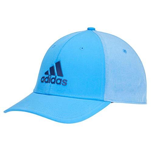 adidas Badge of Sport Heather Gorra de béisbol, Azul (Azul/Gris Dx0725), One Size (Tamaño del Fabricante:OSFM) para Hombre
