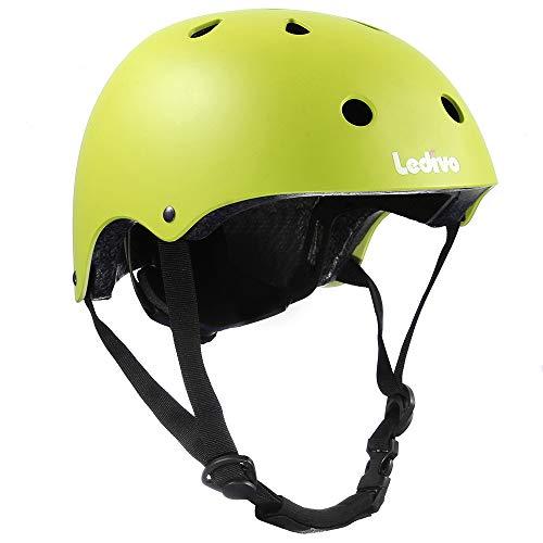 Save %25 Now! Ledivo Kids Bike Helmet Toddler Helmet Adjustable Kids Helmet for Ages 3-8 Years Boys ...