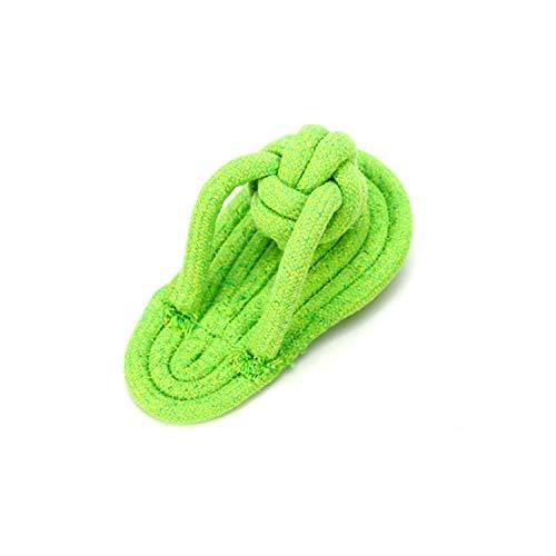 LZYMLG Pet Molar Bite Resistant Zahnreinigung Hundespielzeug Training Baumwolle Seil Set Kombination Teddy Interactive Toy Schuhe