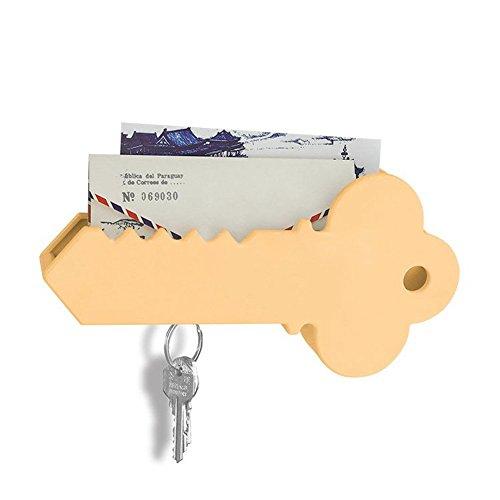 awakingdemi montado en la pared titular de la clave gigante magnético en forma de llave y Mail organizador caja