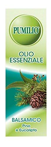 Pumilio, Essenza Balsamica, Olio Essenziale con Pino e Eucalipto - 10 ml