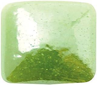 グラスパールスクエア 4x4mm(各30個) グリーン
