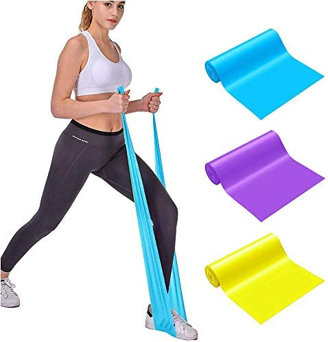 Emoly Professional Upgrade Resistance Bands 3 PC Different Strengths of Exercise Bands 5 ft product image
