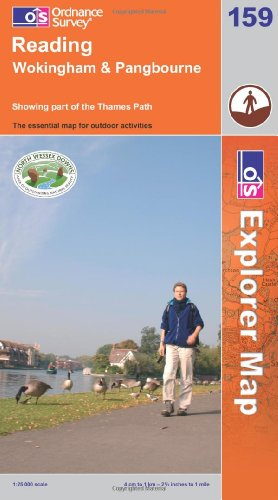 OS Explorer map 159 : Reading