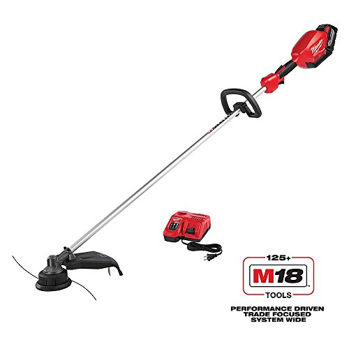 Cheapest Price! Milwaukee M18 FUEL 18-Volt Lithium-ion Brushless Cordless String Trimmer Kit with 9....