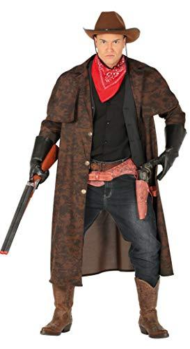Guirca 88570 - Abrigo Cowboy Adulto Talla L 52 54