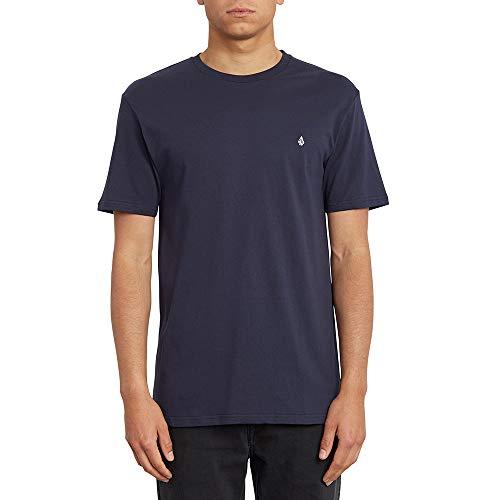 Volcom Herren T-Shirt Stone Blanks BSC SS, Navy, L, A3512056