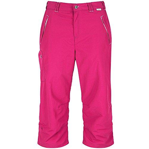 Regatta Damen Chaska Capri Shorts, Dunkle Kirsche, FR : 2XL Fabricant : Taille 20