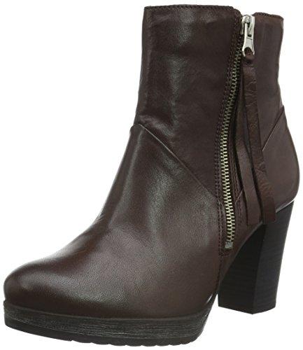 Bianco Damen Platform Boot W/Zip 27-48230 Kurzschaft Stiefel, Braun (Brown/22), 38