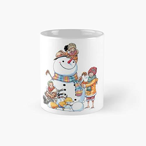 Taza clásica Op Snowman | Mejor regalo divertido tazas de café 12 oz