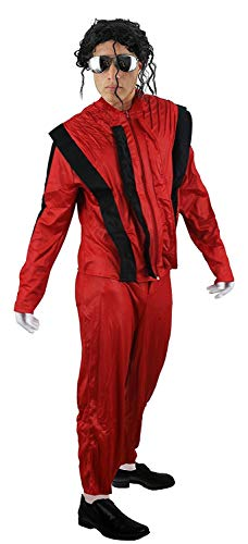 I Love Fancy Dress ILFD4015L - Disfraz para Hombre, diseño del Rey del Pop, Talla Grande