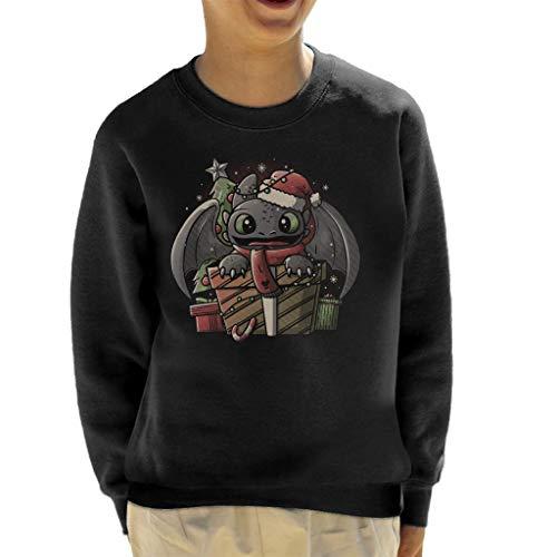 Tandloos dragen van een kerstmuts hoe je je Dragon Kid's Sweatshirt kunt trainen