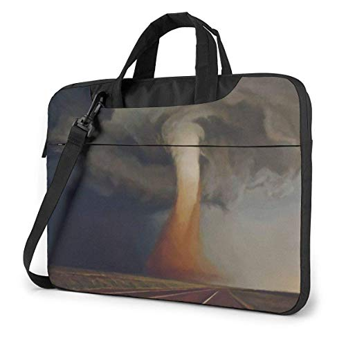 Laptop Case Computer Bag Sleeve Cover Road Tornado Waterproof Shoulder Briefcase