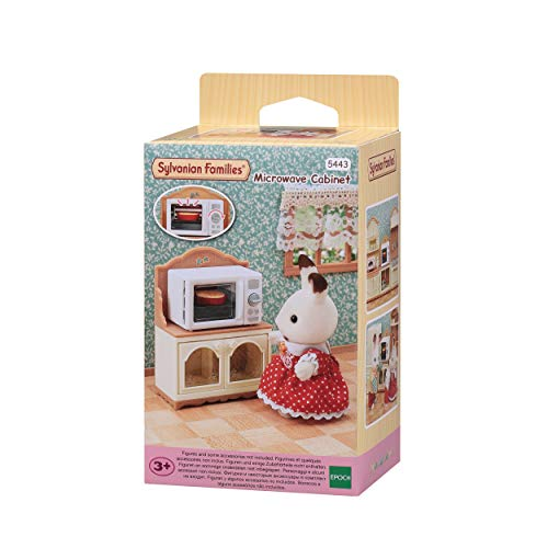 Sylvanian Families- Set de Mueble Microondas, Color (EPOCH 5443)