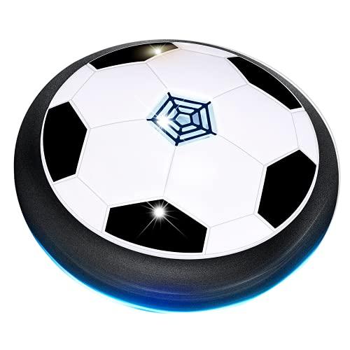 LET'S GOz Regalos Niño 3 4 5 6-12 Años,Juguetes para Niños de 3-12 Años Balón de Fútbol para niños Regalos para Niños Air Ball Juego Deportivo Regalos de Cumpleaños para niños de 3-12 años Niños Negro
