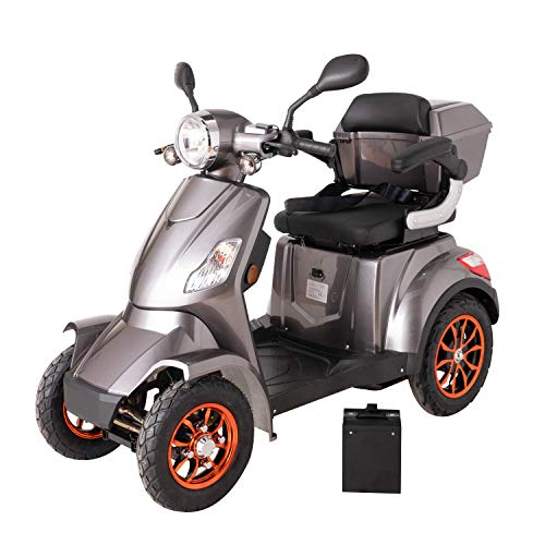 Fastest Electric Green Power Mobility Scooter (1000W)