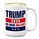 Donald Trump Coffee Mug 15 Oz - Keep America Great 2020-45th American Current President United States Politician Political White House Republican