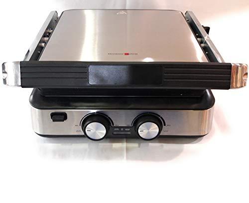 Grillplatte und Toaster