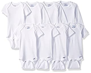 GERBER Baby 8-Pack Short & Long-Sleeve Onesies Bodysuit, White, 6-9 Months (B06X3SWBKY) | Amazon price tracker / tracking, Amazon price history charts, Amazon price watches, Amazon price drop alerts