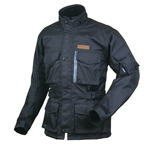ラフアンドロード(ROUGH&ROAD) ジャケット S(spring)S(summer)F(fall) トレイルツーリングジャケット ブラック BM RR4005