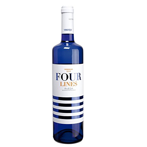 FOUR LINES vino blanco verdejo DO Rueda botella 75 cl