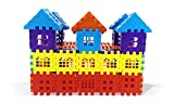 BUILDING BLOCKS WITH VARIOUS DESIGNS BUILDING BLOCKS/TILES HELPS IN CREATING UNIQUE HOUSING, MONUMENTS STRUCTUTES 4-6 ASSORTED COLORS Item Package Weight: 320.0 grams