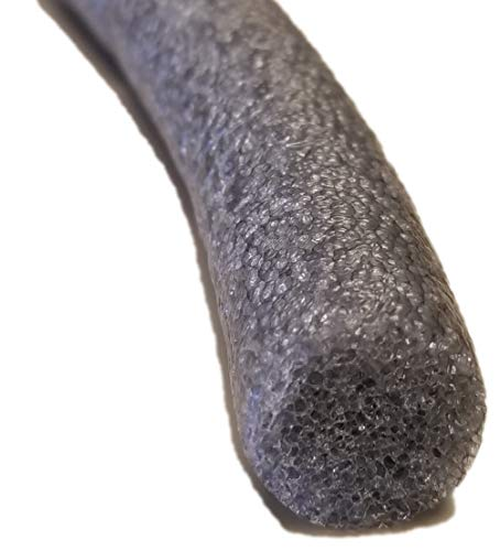 Sashco 31002 Pre-Caulking Filler Rope Backer Rod Roll, 50' Length x 1' Width, Grey
