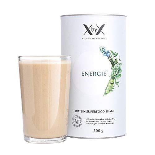 XbyX Energie Protein Superfood Pulver für Hormon Balance, Vegan, Sojafrei, Zuckerfrei, 500 g