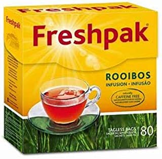 Freshpak Rooibos Infusion 80 tagless bags (2 pack)