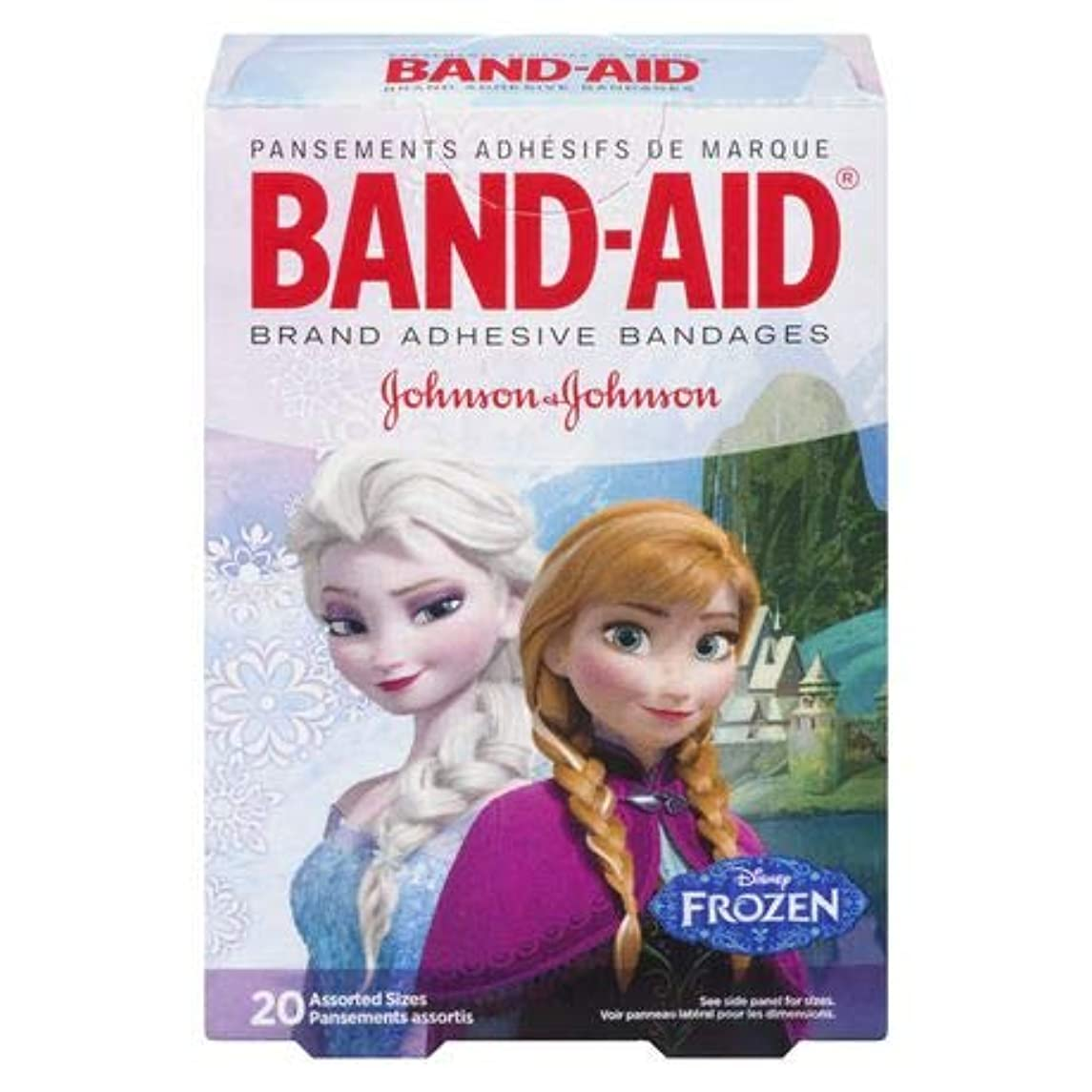Band-Aid Disney Frozen Adhesive Bandages (Pack of 8)