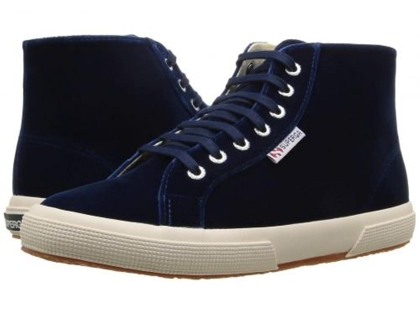 ホバーナラーバーダムSuperga(スペルガ) レディース 女性用 シューズ 靴 スニーカー 運動靴 2095 Velvetw - Blue [並行輸入品]