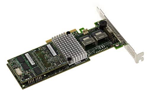 Kalea Informatique - Tarjeta controladora PCIe 3.0 SAS + SATA (6 GB, 8 puertos internos, LSI 9270CV-8i, Raid 0 1, 5, 6, 10, 50 60, versión CV Cache Vault 1GB DDRIII (1333 MHz)